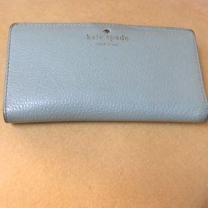 Kate Spade Mint Green Wallet